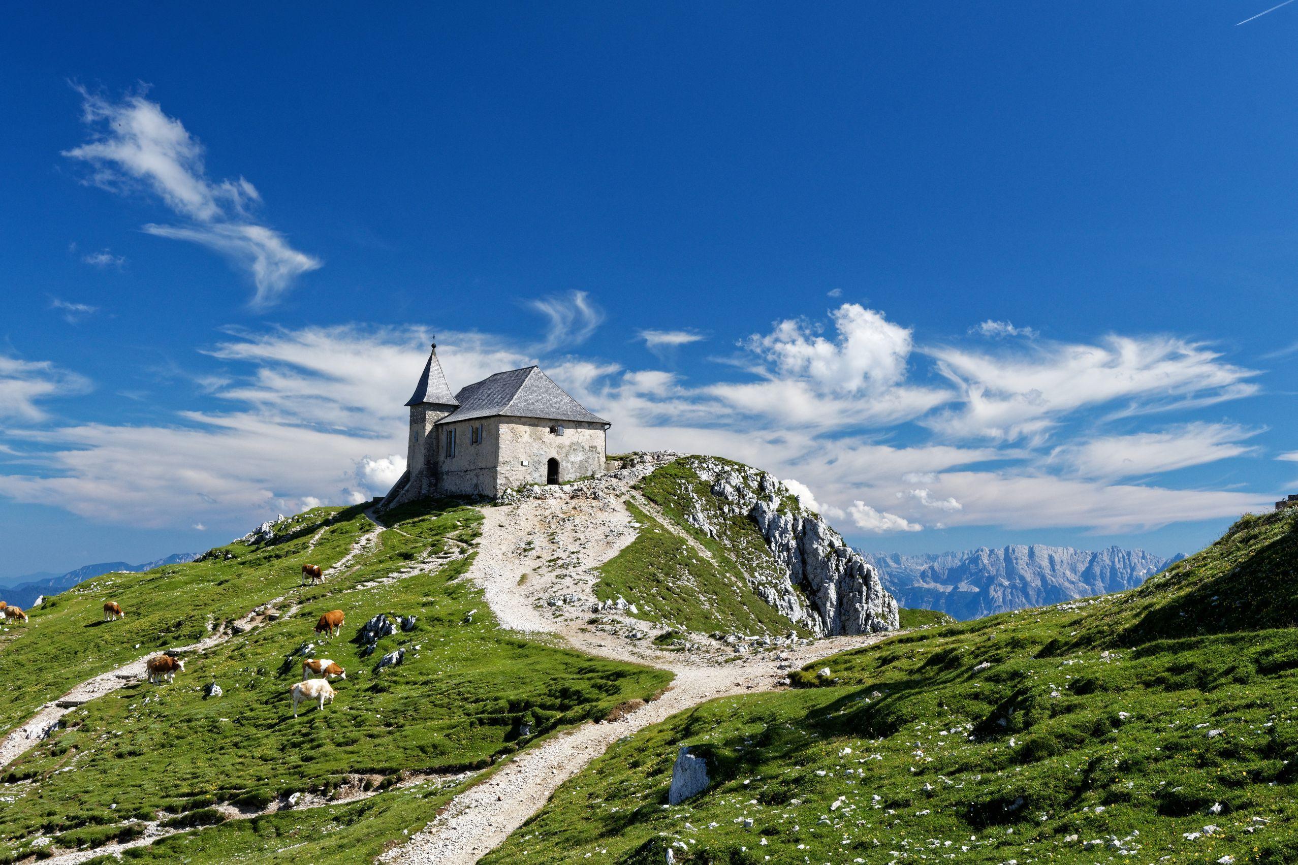 Die höchste Wallfahrtskirche in Österreich - am Dobratsch
