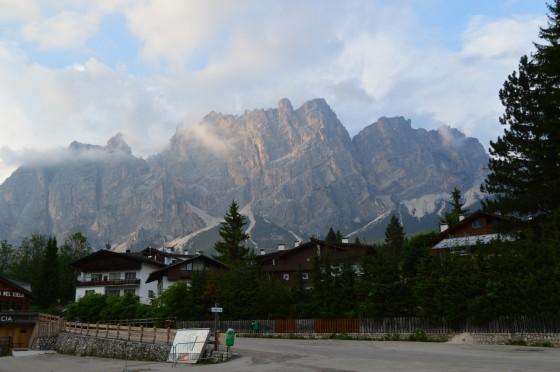 13 abendstimmung in cortina d ampezzo tour italien juni 2015