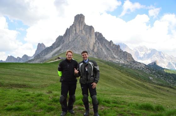 34 wir am passo giau tour italien juni 2015