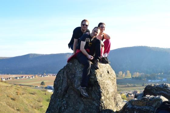 Anna Mathias und ich Wachau