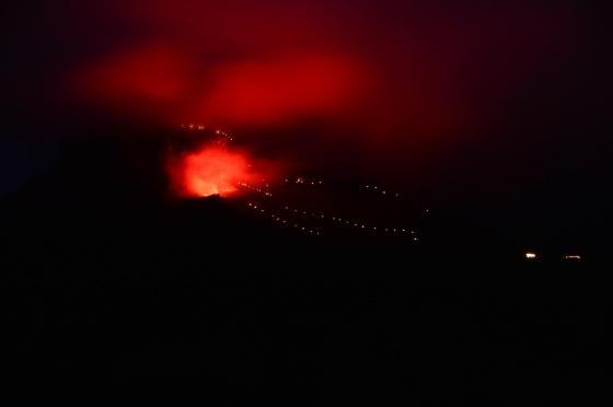 berge in flammen 2017 loser bengalisches feür 2
