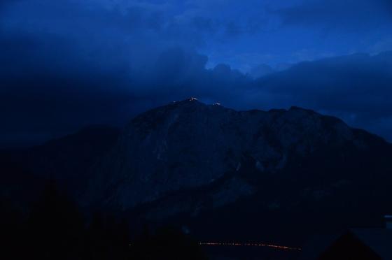 berge in flammen 2017 seebeleuchtung und gipfel trisselwand
