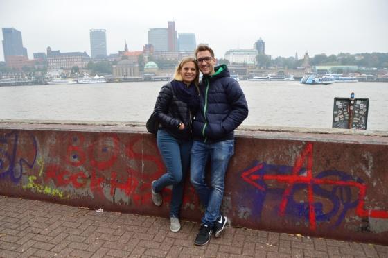 Berni und Yvonne in Steinwerder .