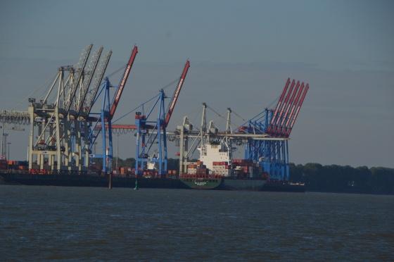 Hafen Kräne Hamburg