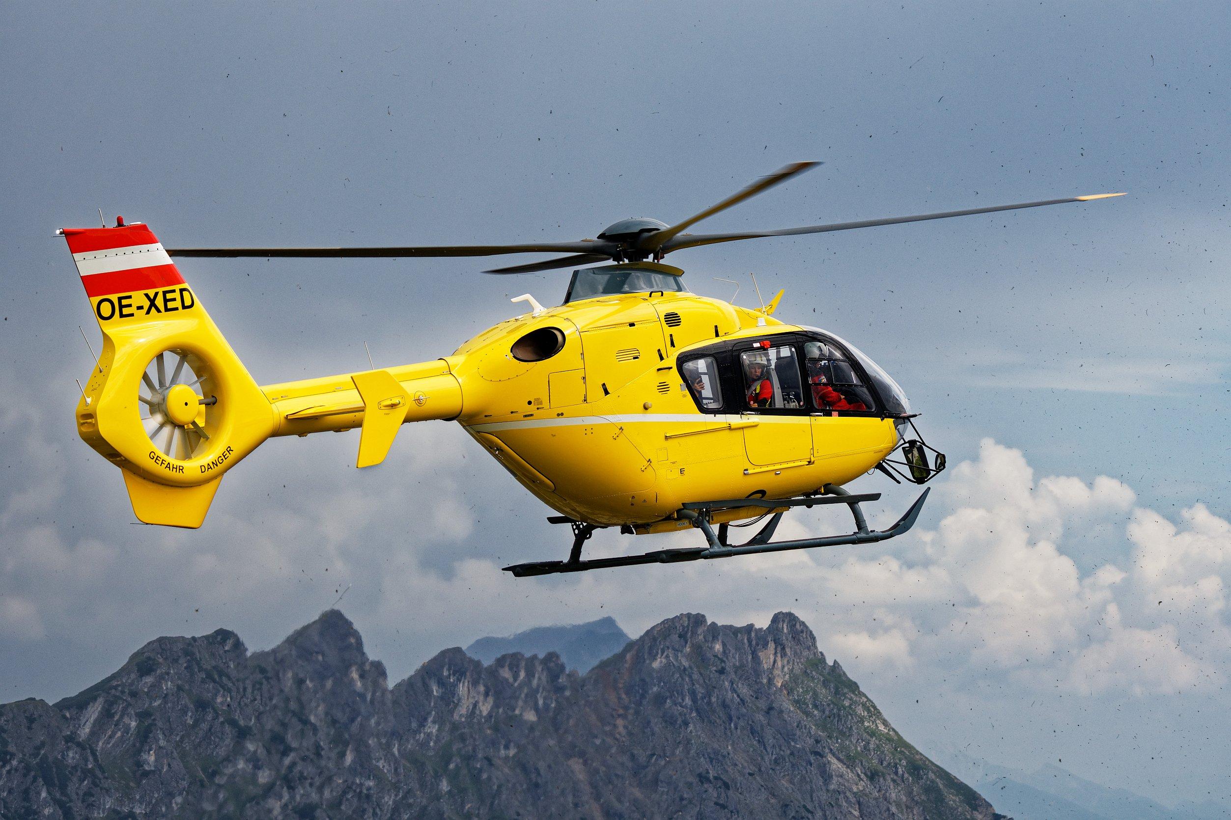 OE-XED Rettungshubschrauber 2020-08-19