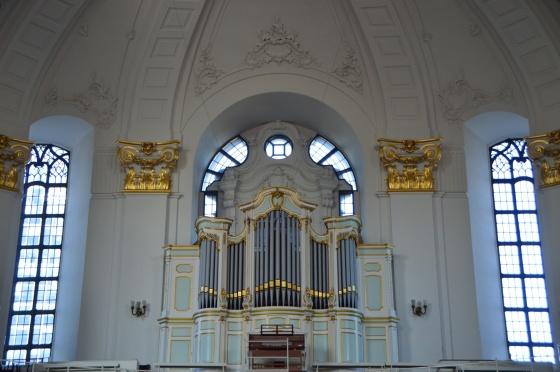 Orgel 1 St Michälis Kirche