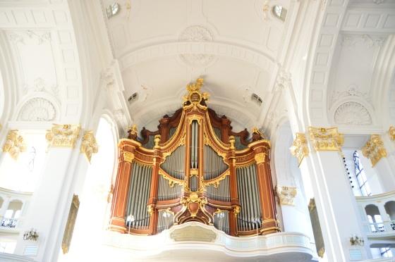 Orgel 2 St.Michälis Kirche Hamburg