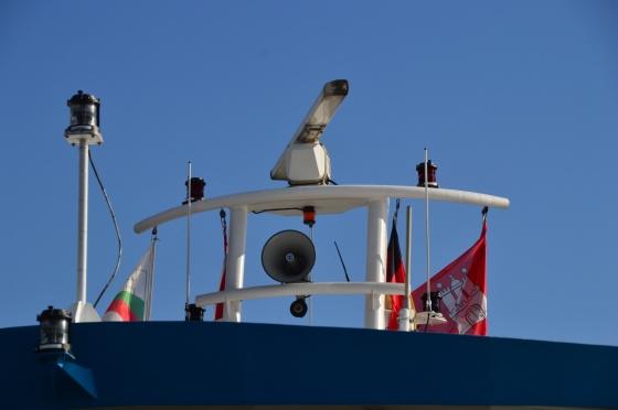 Radar mit Flaggen