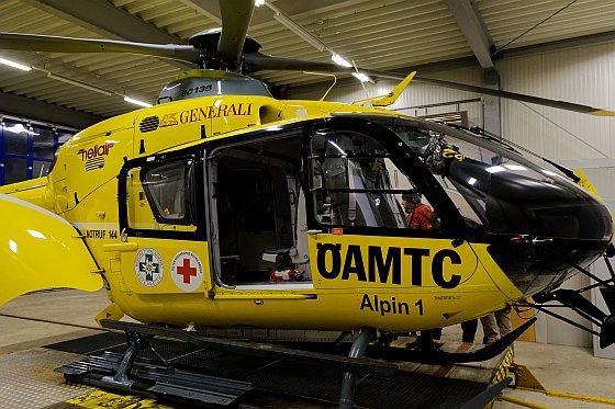Rettungshubschrauber OEAMTC Alpin 1 Patergassen Kärnten 2020-06-16