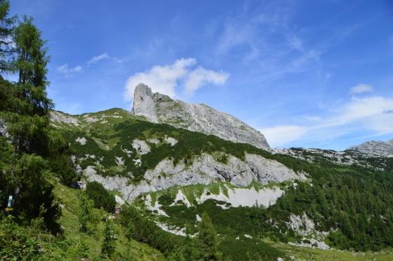 aufstieg zum gamsblick klettersteig tauplitzalm