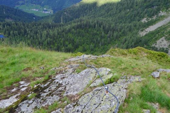 ausstieg franzi klettersteig reiteralm