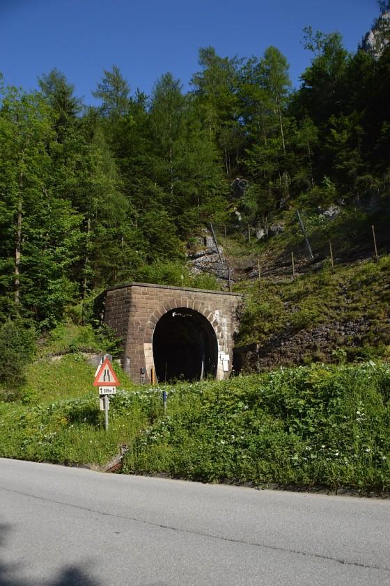 bahn tunnel gesäuse