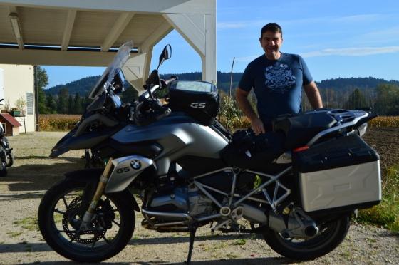 beim motorräder paken in moosburg