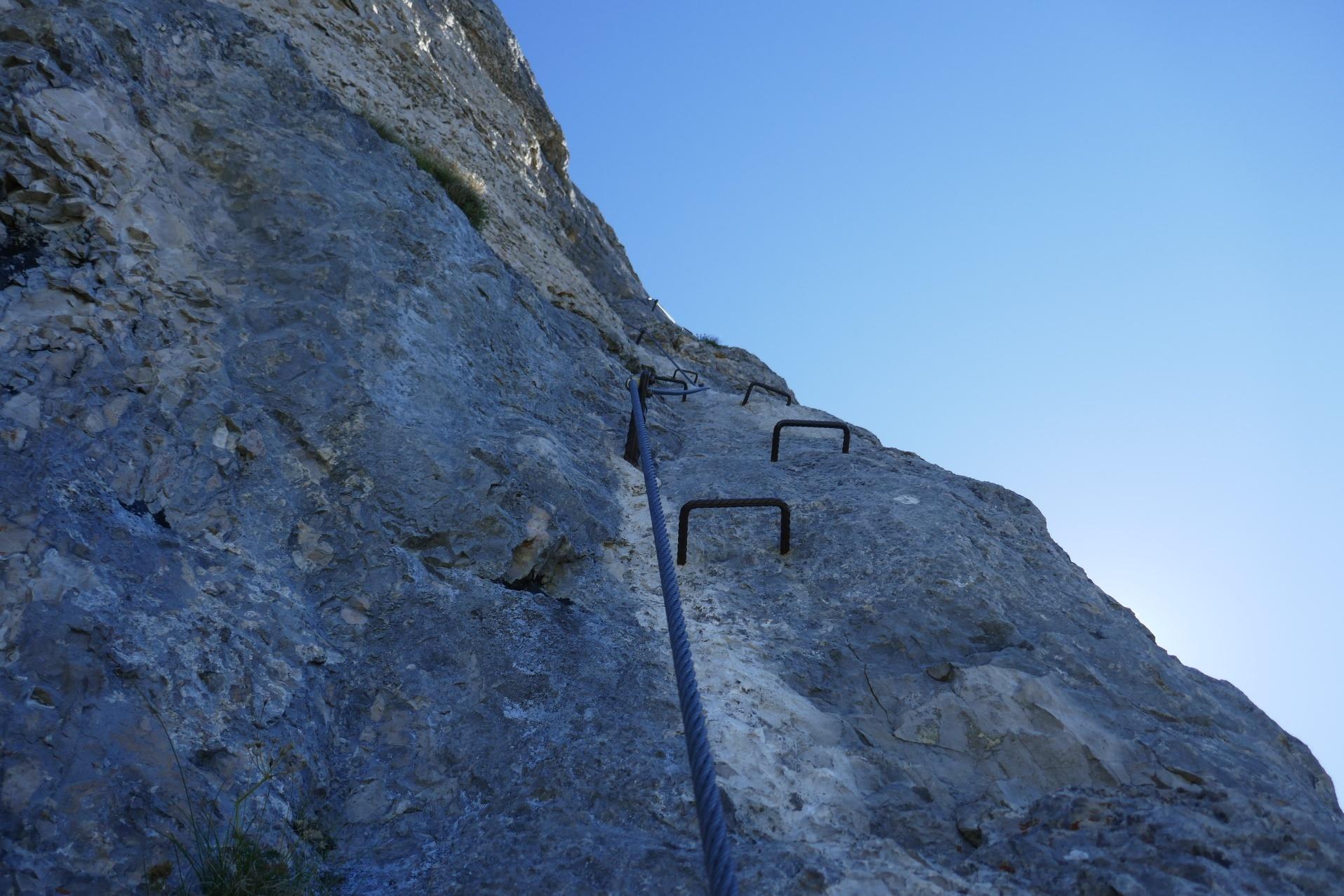 Klettersteig Loser : Loser klettersteig