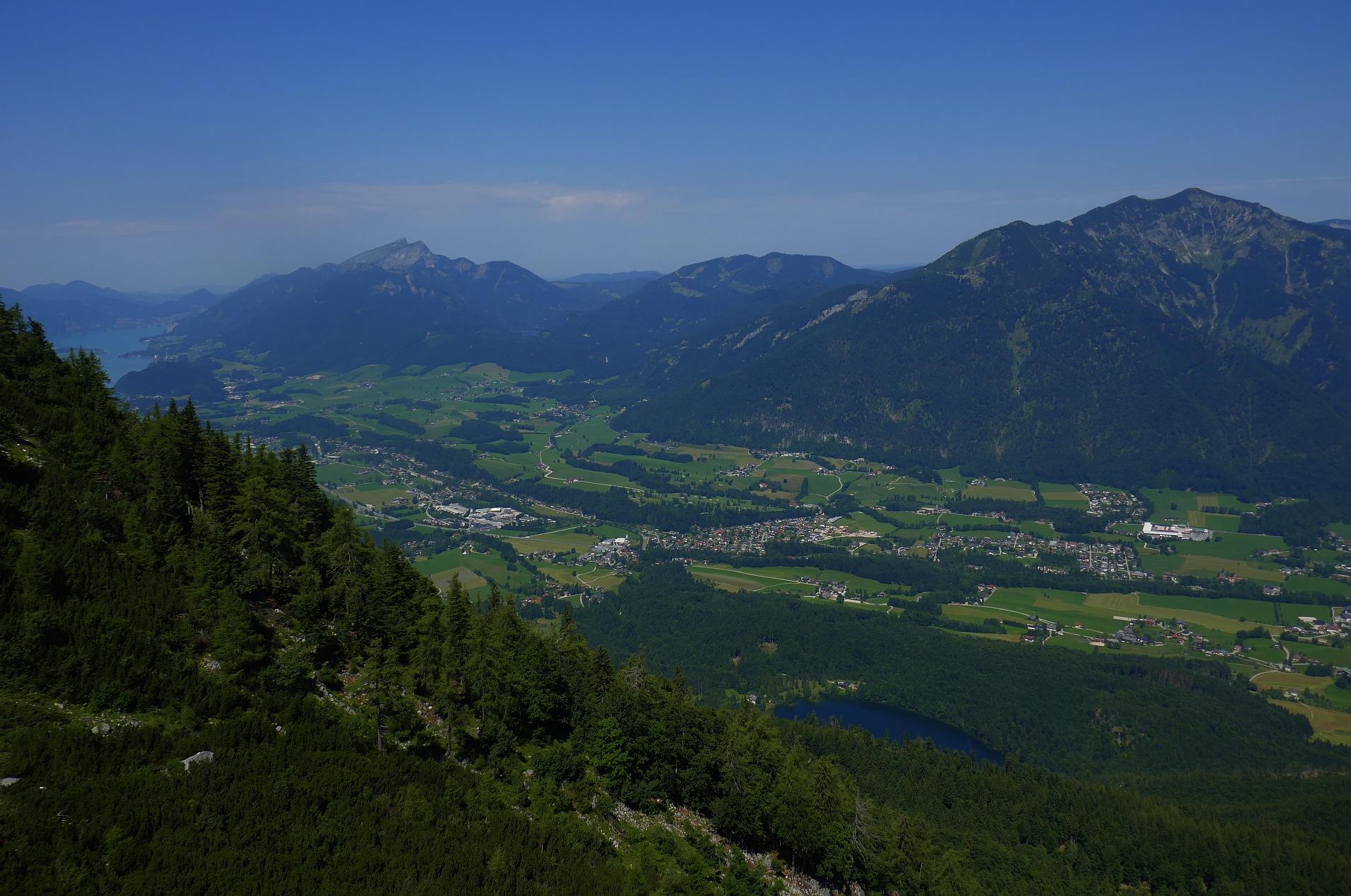 Klettersteig Wolfgangsee : Katrin klettersteig mit michelle mama clara und georg