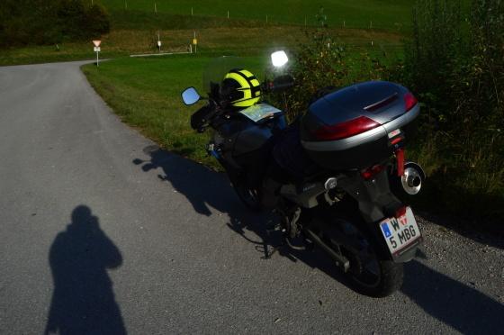 helm am motorrad