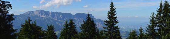 hochthron massiv panorama