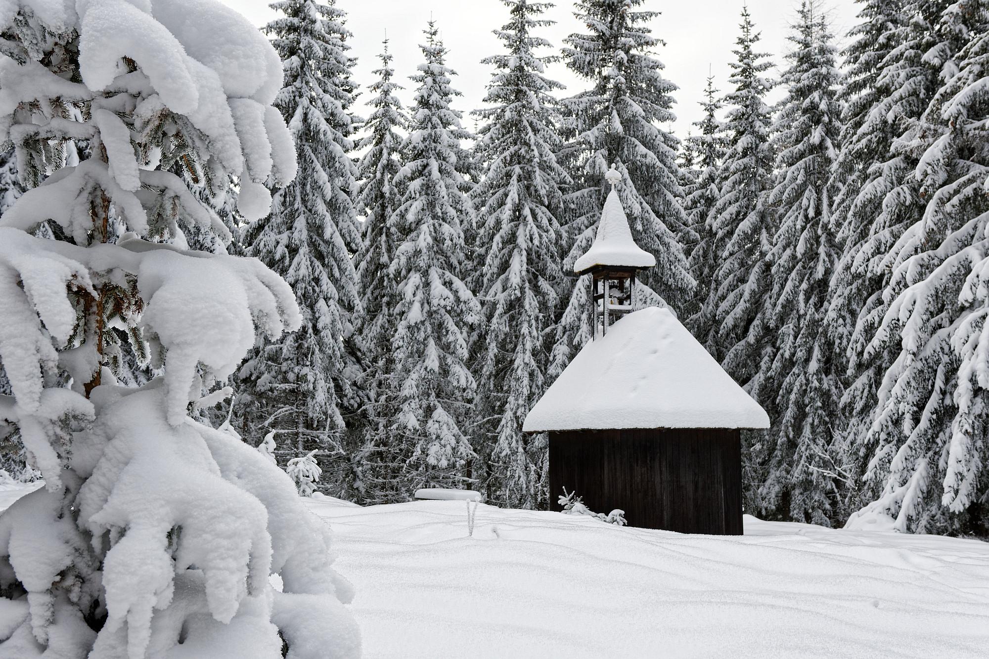 kapelle im schnee 2021-01-11