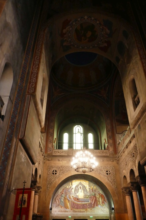 kirchenschiff orthodoxe kirche cluj