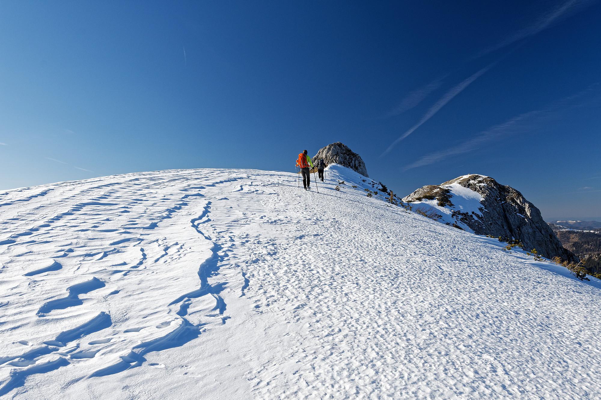 kleine burgwand schneealpe 2021-04-03