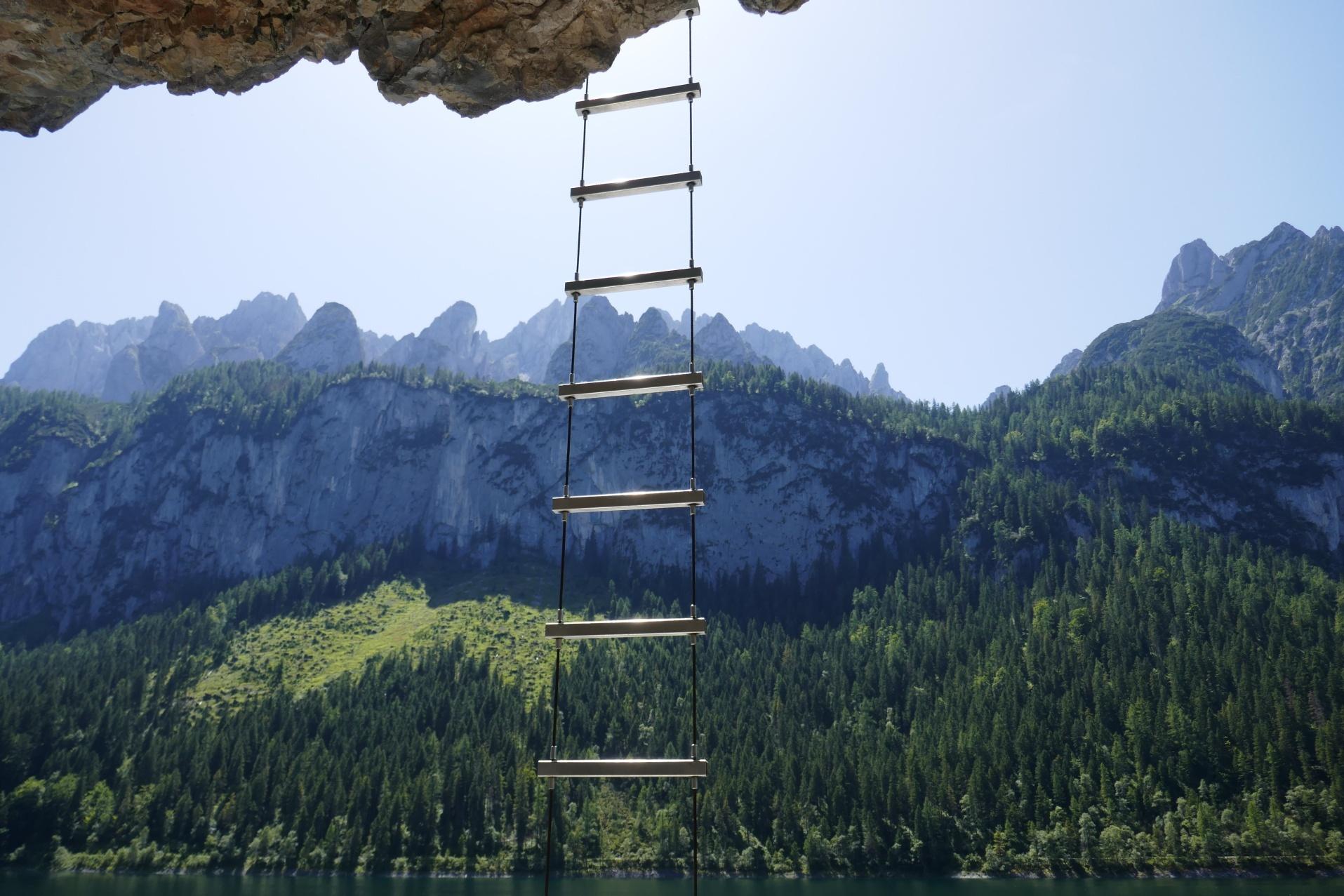 Klettersteig Gosau : Gosauklettersteig mit bestem blick auf den dachstein potassiums