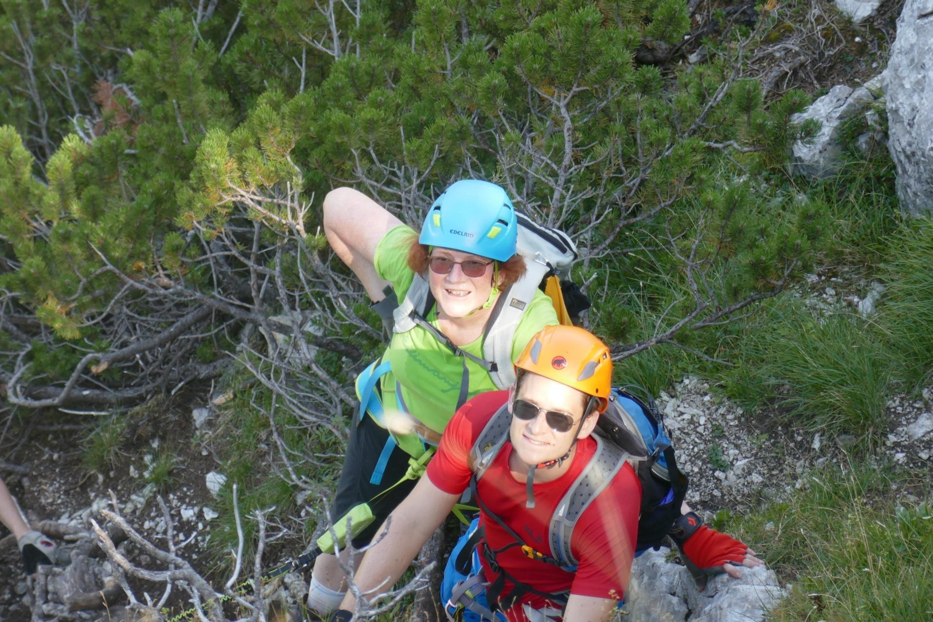 Klettersteig Katrin : Ein leichter klettersteig auf die katrin salzburger fenster