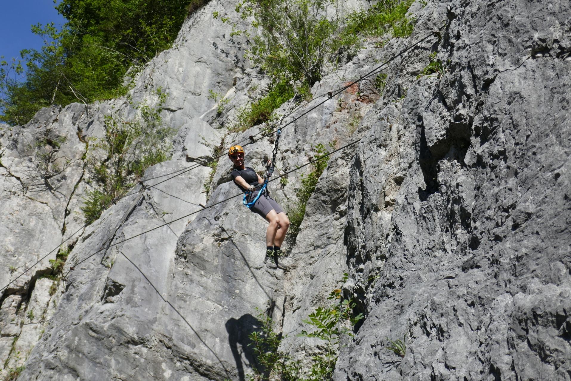 Klettersteig Himmelsleiter : Klettersteig am donnerkogel in gosau urlaub