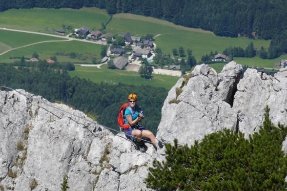 Klettersteig Wolfgangsee : Postalm klettersteig u erweiterung mit extremroute e f « alle