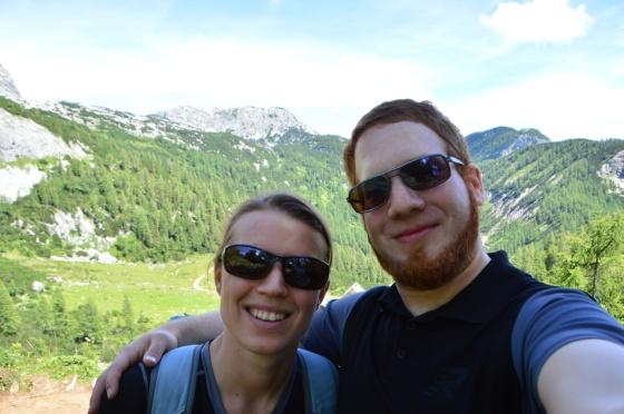michelle und ich auf der tauplitzalm DSLR selfie