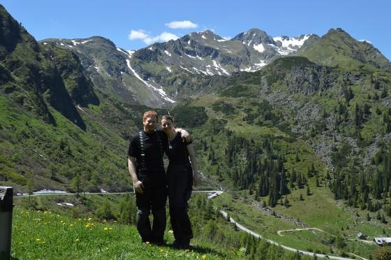 michelle und ich bei ostkehre am sölkpass