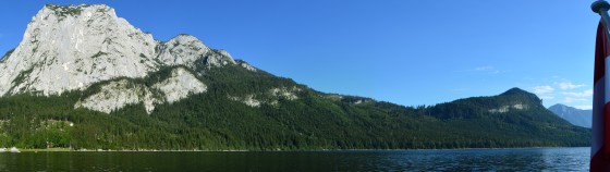 panorama altausseersee vom schiff