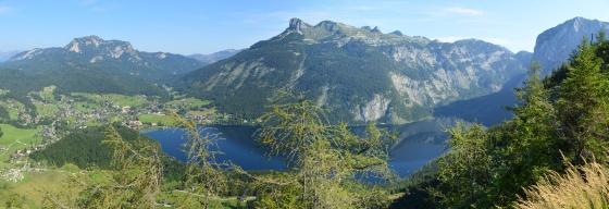 panorama altausseersee von tressenstein nase aus