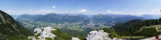 panorama blick auf norden von katrin gipfel