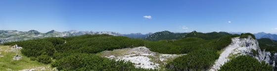 panorama gipfelplateau trisselwand
