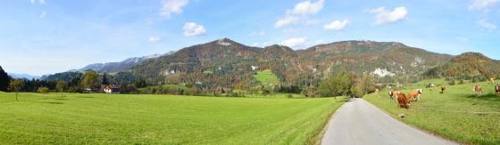 panorama oberösterreich beim hengstpass