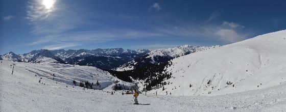 panorama schwarze piste königsleiten