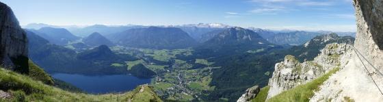 panorama sissi klettersteig rastplatz