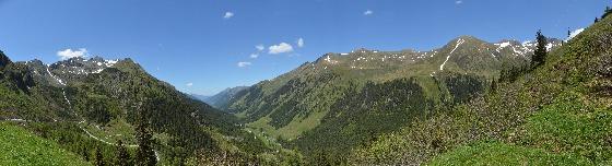panorama sölkpass ostkehre