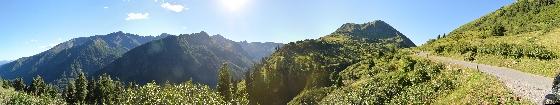 panorama sölkpass südseite