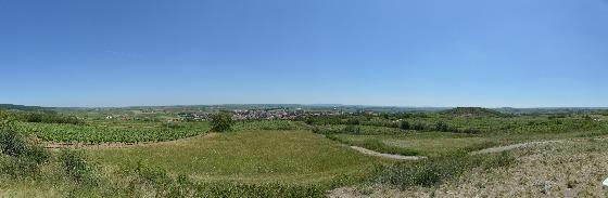 panorama windmühle retz