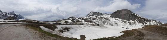 pass panorama schnee