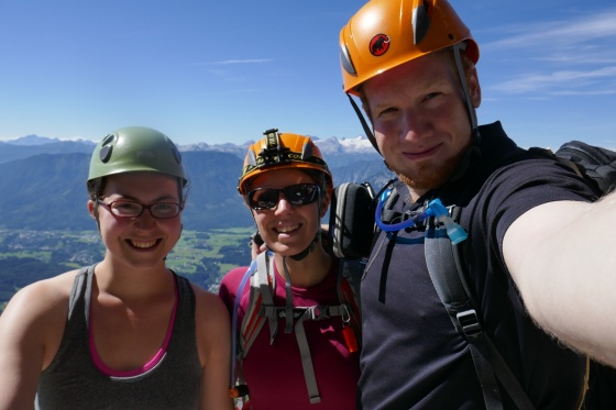 selfie am sissi klettersteig