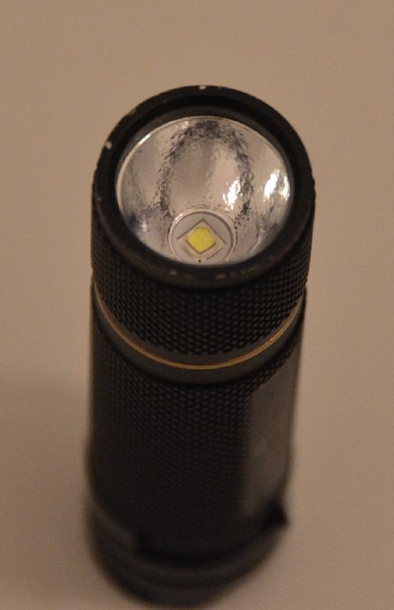 solarforce Z1 mit orangepeel reflector seitlich