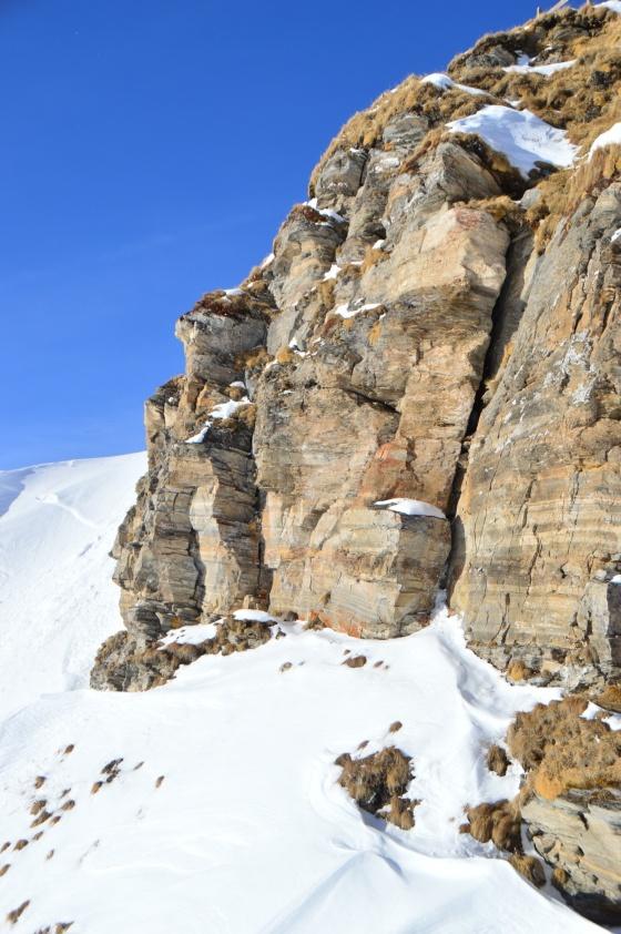 steinwand und schnee gastein