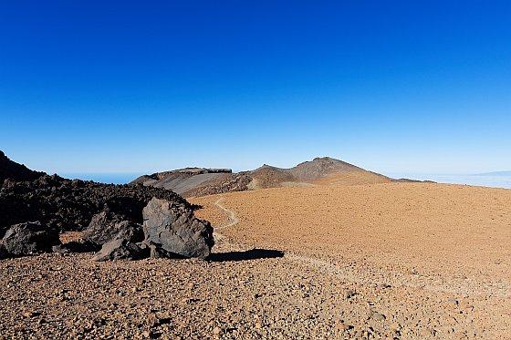 steinwüste am weg zum pico viejo 2020-03-04