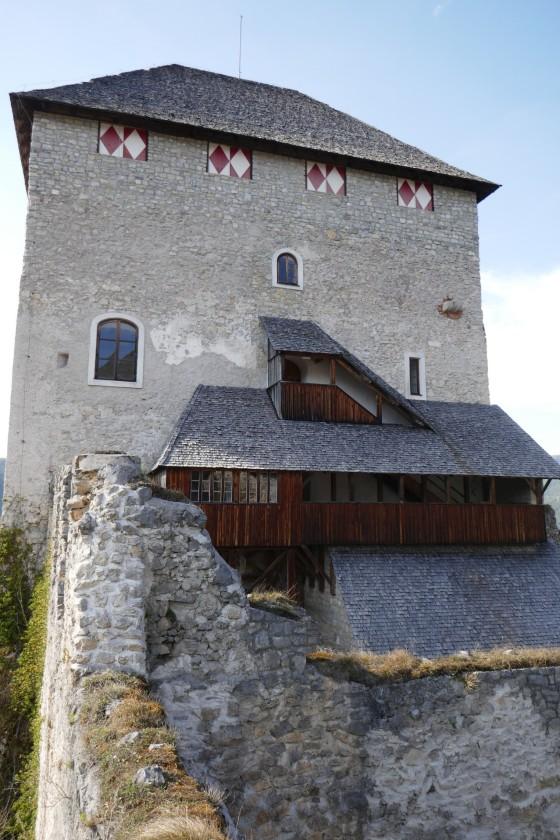 wohnturm ruine gallenstein